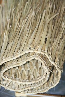 Palm Thatch Rolls