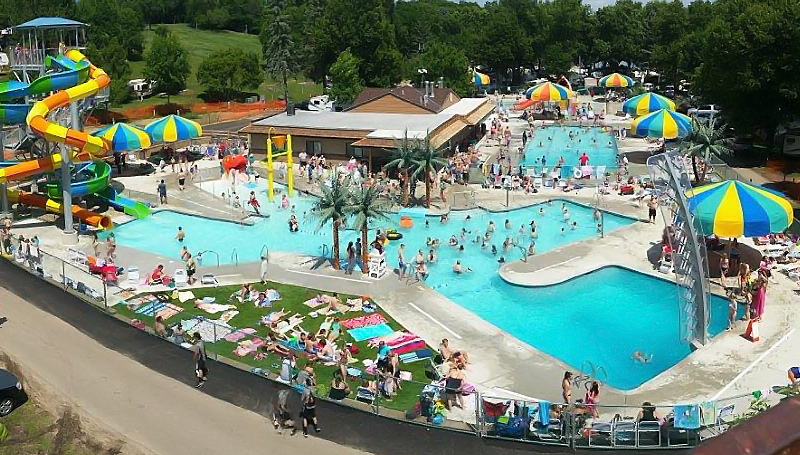 <h6>Kamp Dells</h6> <p>Water Parks are looking to Tropical Expressions to create a tropical theme for their guests</p>