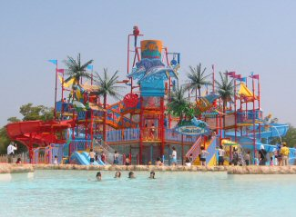 <h6>Aqua Play Rain Fortress</h6> <p>Located at the largest waterpark in Japan</p>