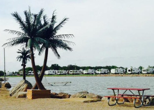 <p>Happy Time Resort – Lake Mills, IA</p>